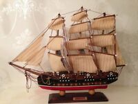 Hancrafted Antique Model Ship (Brigantin)