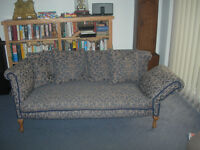 Chesterfield drop arm sofa Delivery possible