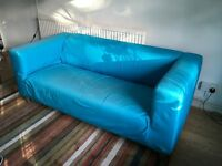 IKEA Klippan 2-seater sofa - design classic, good condition, comfortable, needs a new a cover