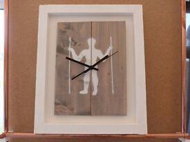 Long man of Wilmington clock
