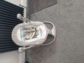 New baby car seat, electric swing, bouncer, play gym, moses baskets