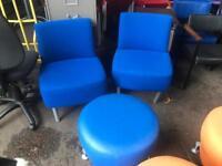 Blue Chairs & Pod Set