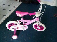 Pink Hello Kitty girls bike 2-5 years