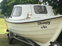 Fishing boat Orkney Strikeliner
