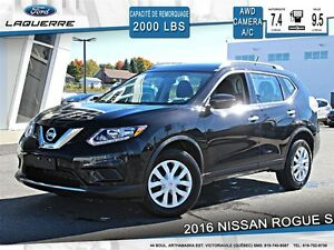 2016 Nissan Rogue **S*AUTOMATIQUE*AWD*CAMERA*CRUISE*A/C**