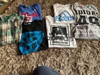 Boys bundle of tops