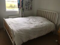 Marks and Spencer Kingsize bed with memory foam mattress