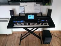 YAMAHA TYROS 4 + Speakers 10th Anniversary IMMACULATE condition + extras !!