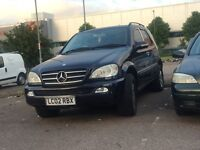Mercedes ML-270 CDI Auto Cream Leather Fully Loaded Body Work Not The Best
