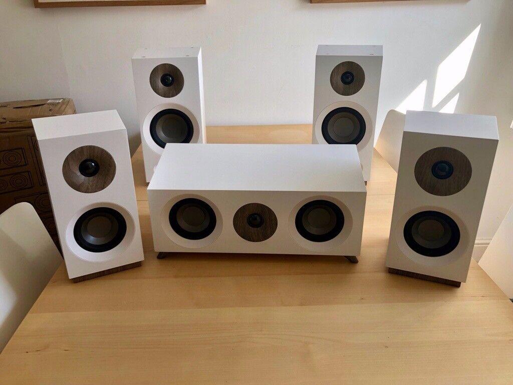 Jamo S 803 Home Cinema 5 0 White Speaker Set | in Brighton, East Sussex |  Gumtree