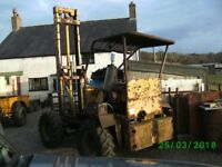 Liner 4x4 rough terrain fork lift VINTAGE COLLECTORS ITEM