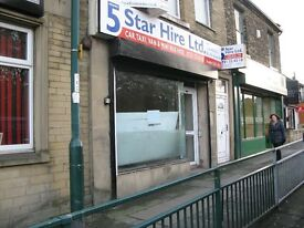 OFFICE/RETAIL UNIT TO LET OF A BUSY BRADFORD ROAD