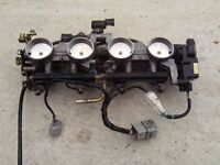 Kawasaki ZX6R 636 Injection Throttle bodies 2004 B1H £100. 07870516938