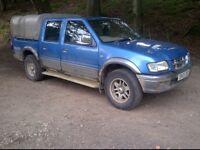 4x4 japanese pickups wanted (l200, navara, ford ranger, mazda b2500, hilux etc) diesel