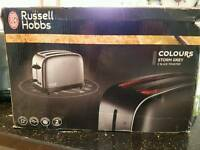 NEW in box: Russell Hobbs 2 slice toaster