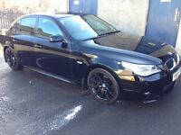BMW 525d MSPORT AUTOMATIC BLACK (177bhp)