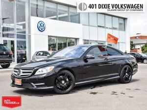 2013 Mercedes-Benz CL550 4matic Coupe AMG Black Rims. 4 Motion,