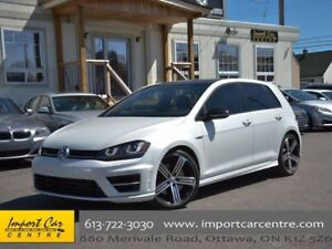 2017 Volkswagen Golf R 2.0 TSI LEATHER NAV BLIS