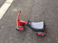 Red Winther Safety Scooter,age 1-3 years