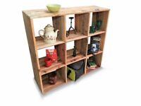 pallet furniture Handmade square shelf - DIY Project