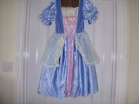 Cinderella Reversible dress - From Rags to Riches -Age 5-6yrs