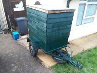 Car trailer 4ft 2 1/2 ft