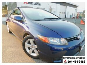 2007 Honda Civic EX; Local BC vehicle!