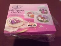 Silk painting card kit (by house of crafts)