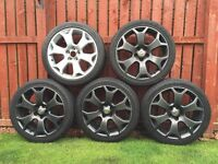 Rare Vauxhall Vectra / Astra VXR alloys wheels 18""
