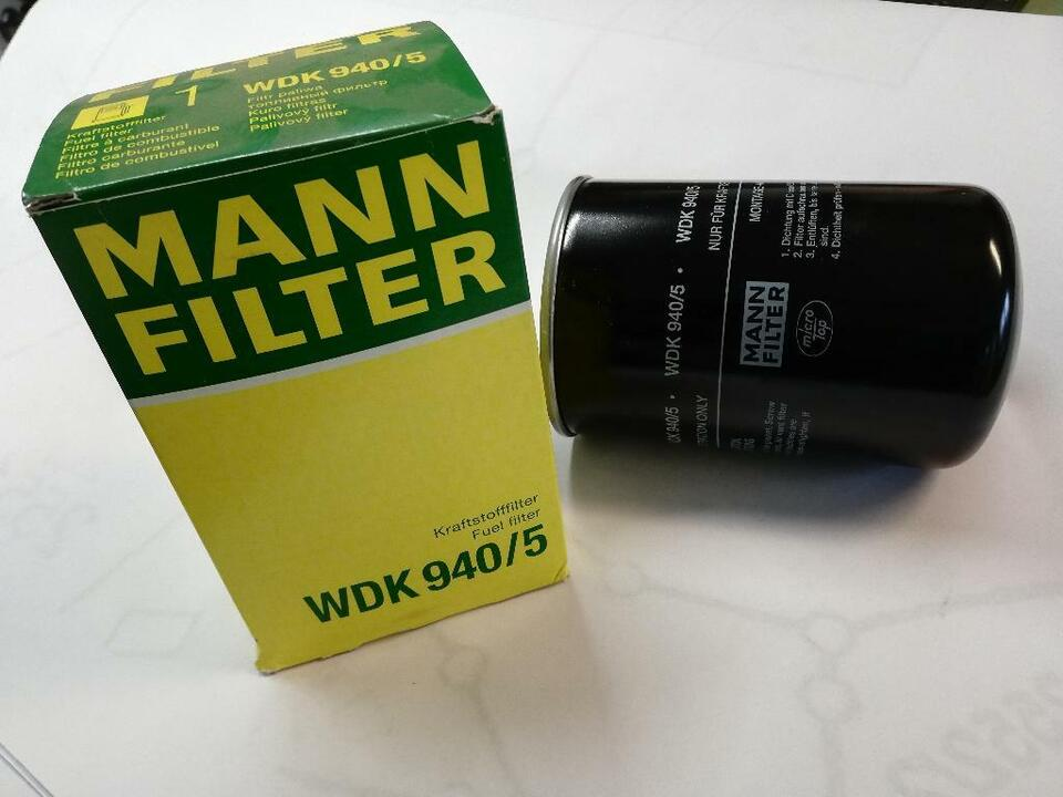 Mann Filter WDK 940/5 Kraftstofffilter  Fuel filter in Bayern - Bad Birnbach