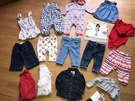 Baby girls 3-6 months bundle