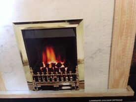 Complete fire and surround new boxed