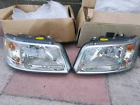 VW Volkswagen T5 transporter head lights