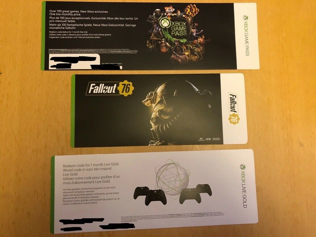 Xbox One with Fallout 76 | in Kinross, Perth and Kinross | Gumtree