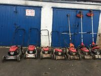 SPARES OR REPAIRS LAWNMOWERS and STRIMMERS