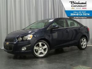 2016 Chevrolet Sonic LT   SUNROOF   HEATED SEATS   LOW KMs