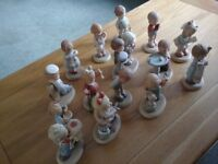 Lucie Attwell Memories of Yesterday Figurines