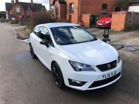 2015 1.2 TSI SEAT Ibiza FR Black in Nevada White
