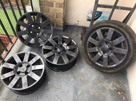 15 inch Ford Puma Wheels