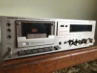 Vintage Hitachi Cassette Tape DeckD-560