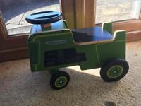 Kiddimoto Green Tractor