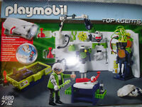 Playmobil Top Agents Gangster Laboratory