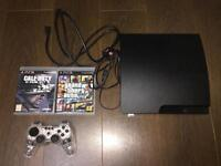 PS3 slim 320gb fully working open to offers