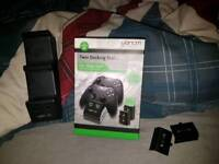 Xbox One Charging Dock And 4x Battery Packs