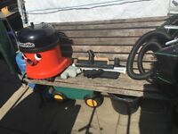 Henry hoover range with tools commercial hoover mains