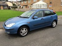 02 FORD FOCUS 1.6 ZETEC FULL HISTORY 99K DRIVES SUPERB TIMING BELT DONE CHEAP RELIABLE CAR