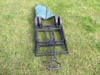 4 wheel folding garden trolly/cart, nice condition