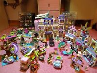 LEGO FriendsBUNDLE-BARGAIN- 8 sets &lots of extras(hotel/mall/jet/pool/res.centre/camper/bridge/car)