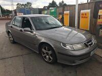 Saab 9-5 lin sport 2.3 turbo 16v petrol (automatic)! 05 plate! Mot april 2019! 155,000 miles! £380!!