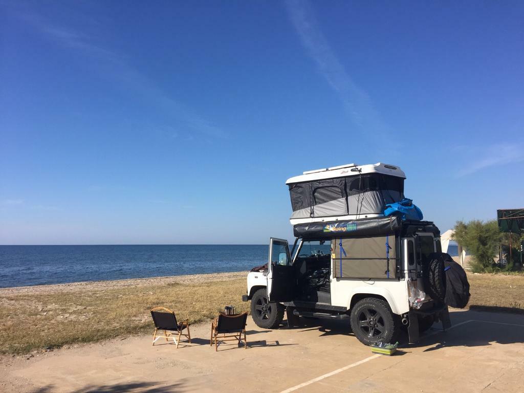 james baroud roof top tent for sale